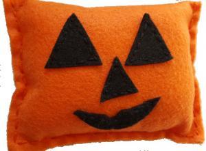 Pumpkin Pillow Sewing Kit
