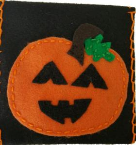 Pumpkin Pouch Sewing Kit